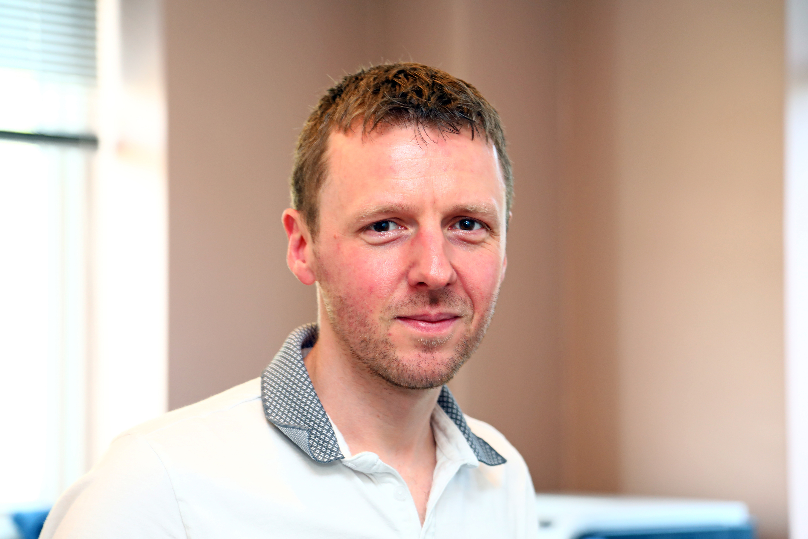 Nick Atkinson business analyst at Walkers Transport